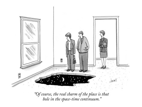 tom-cheney-of-course-the-real-charm-of-the-place-is-that-hole-in-the-space-time-con-new-yorker-cartoon