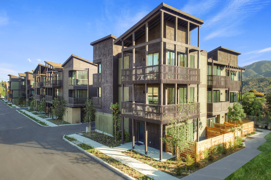 Penn-Court New Townhomes for Sale La Crescenta Tracy Do Compass