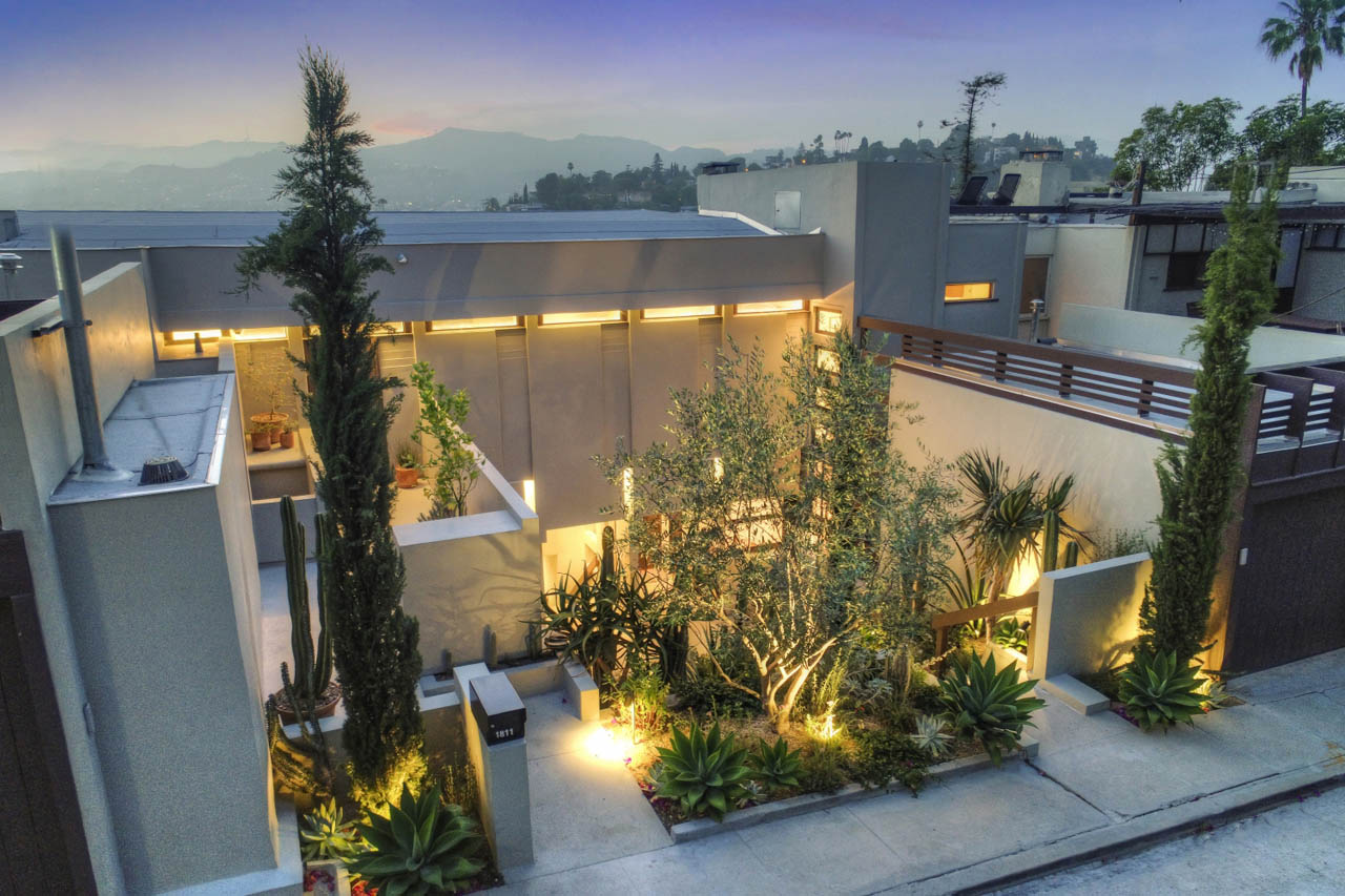 1813 3/4 Edgecliffe Dr Silver Lake Schindler Apartment for Lease Tracy Do Compass Real Estate