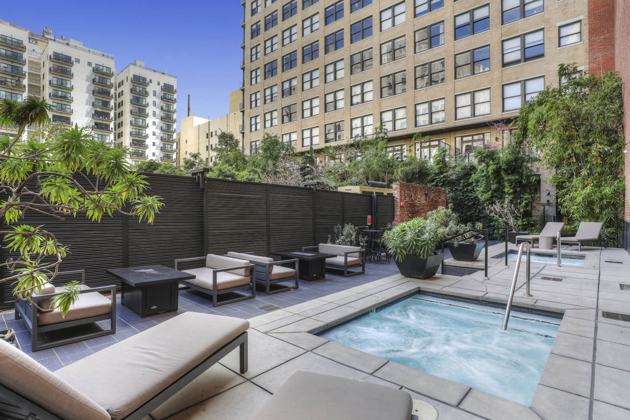 460 S Spring St #1008 Downtown LA Loft for Lease Rowan Building Tracy Do Compass Real Estate