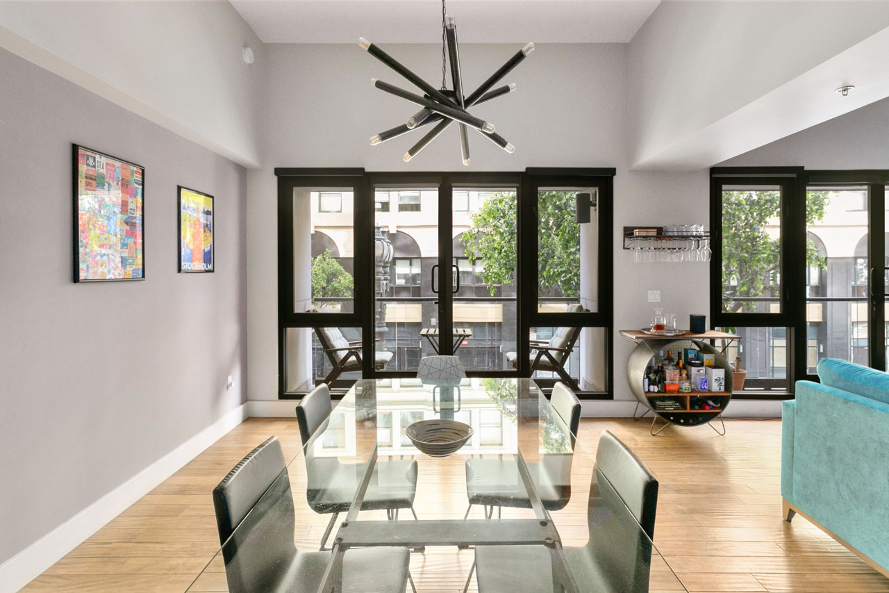 460 S Spring St #212 DTLA Rowan Lofts for Sale Tracy Do Compass Real Estate