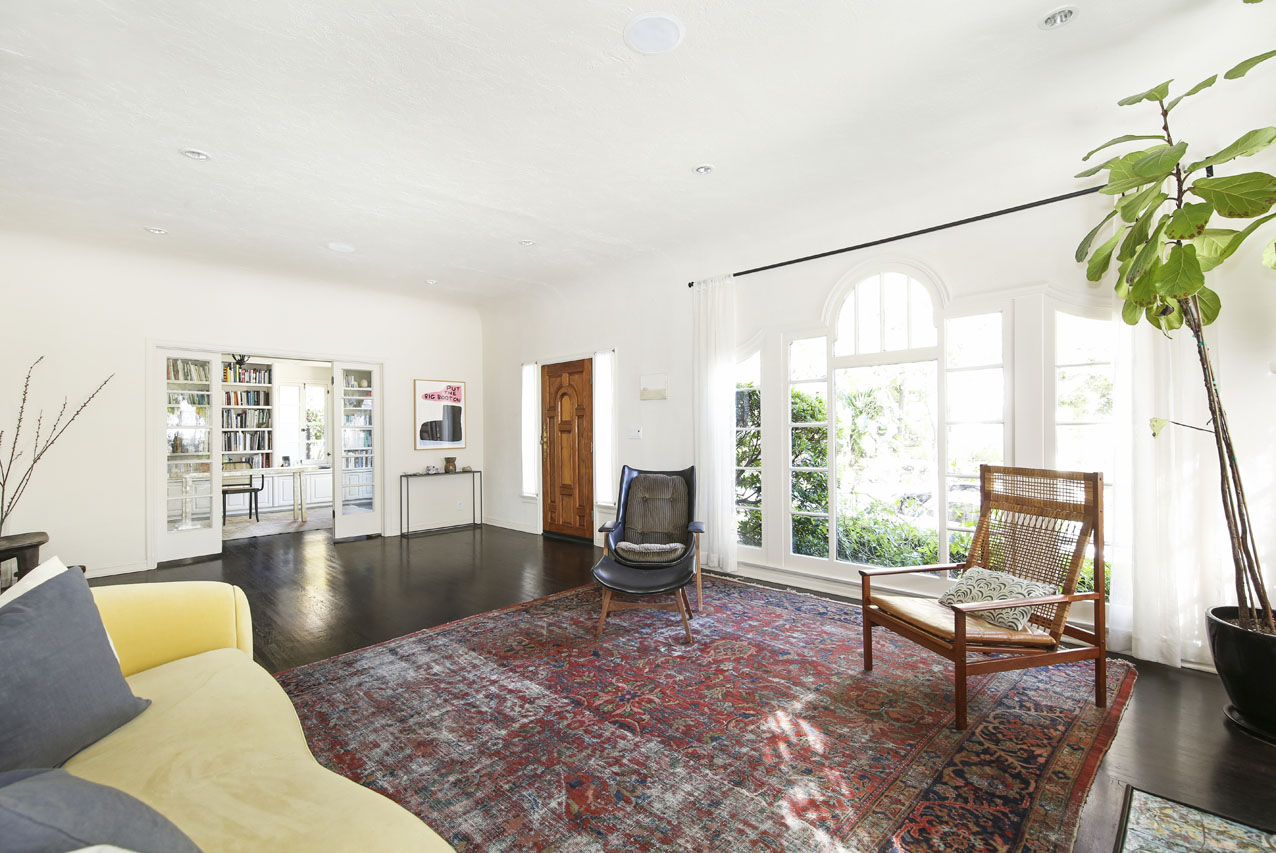 2009 N Serrano Ave, Los Feliz Home for Sale Tracy Do Compass Real Estate