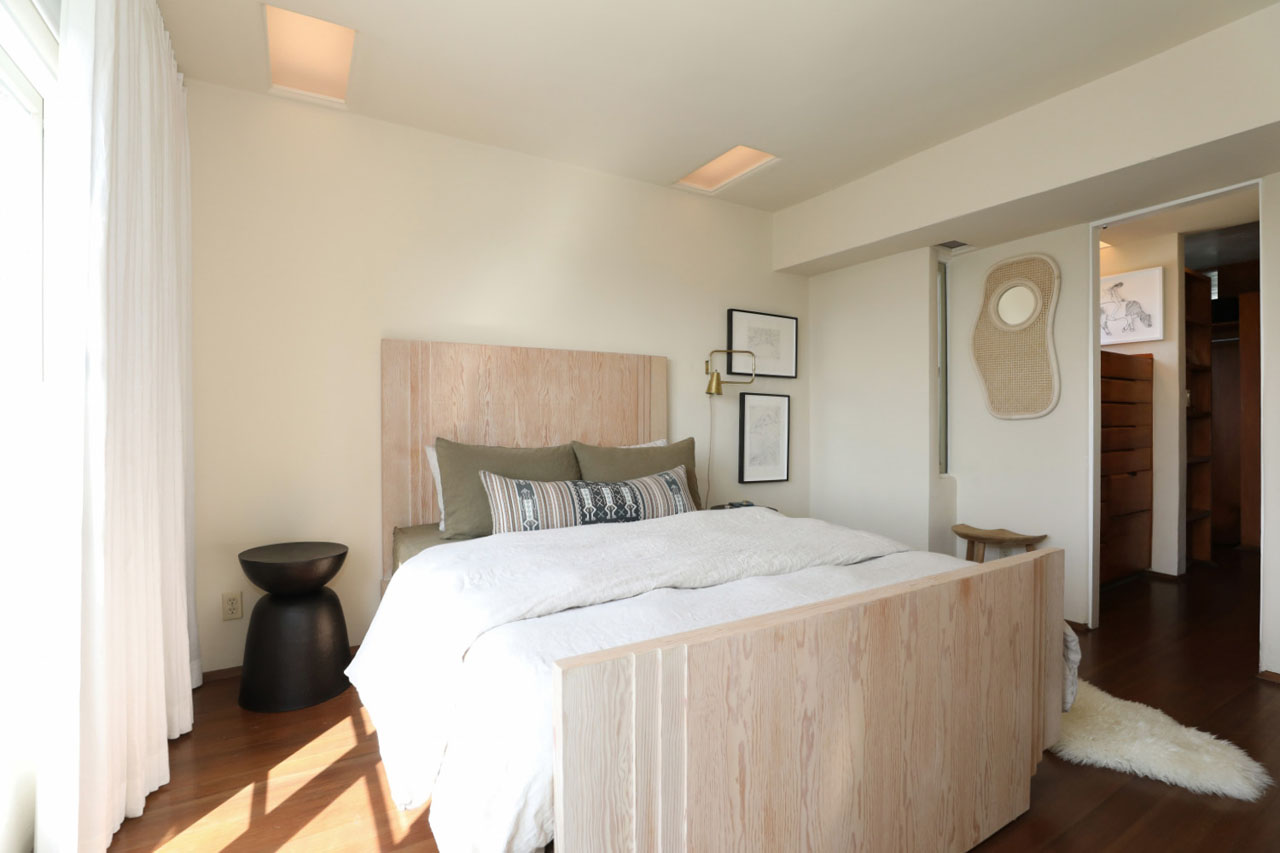 1811 Edgecliffe Dr Silver Lake Penthouse for Lease Schindler Architect Tracy Do Compass Real Estate