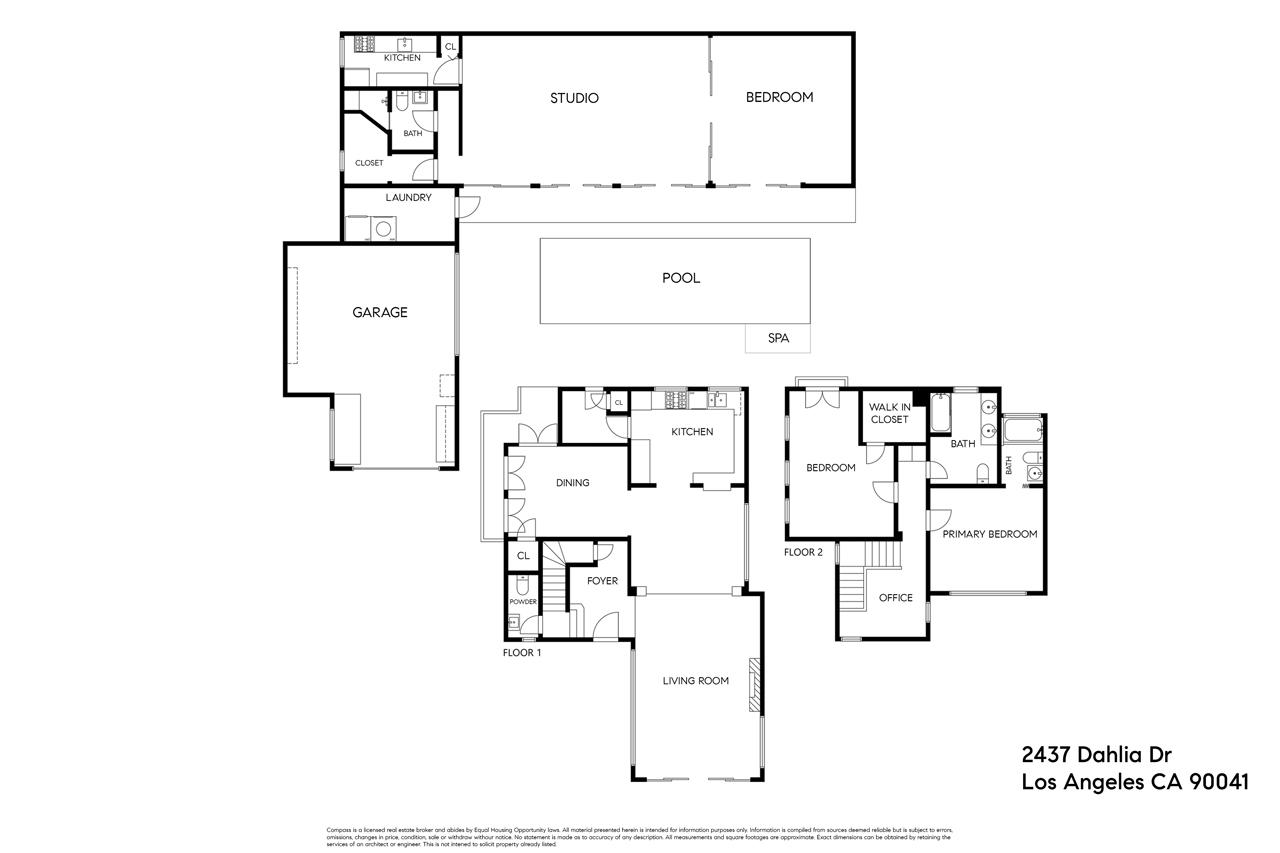 5437 Dahlia Dr Eagle Rock Home for Sale Tracy Do Compass Real Estate