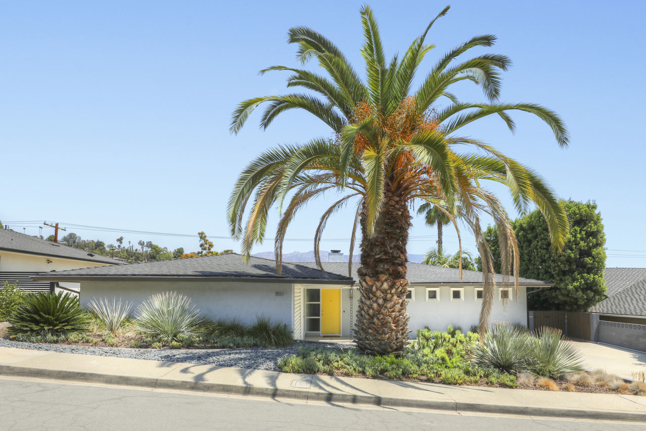 150 Anita Dr Pasadena Mid-Century Modern Home for Lease Tracy Do Compass Real Estate